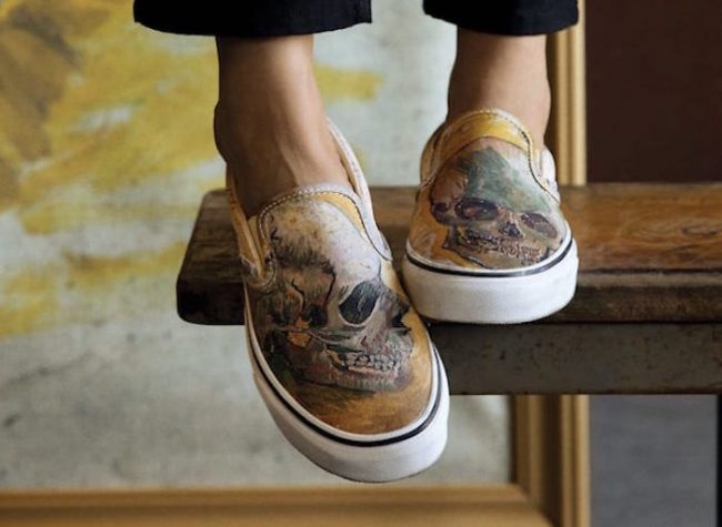 All the designs are inspired by famous paintings like Skull ae5e23567